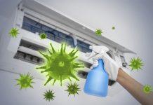 Sanificazione condizionatore impianto